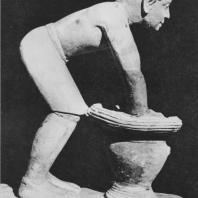 Пивовар. Известняк. V дин. Статуя найдена в Гизе. Египетский музей в Каире. Фото: Анджей Дзевановский