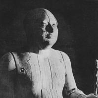 """Верхняя часть статуи так называемого """"Мэра Саккары"""". Дерево. V династия. Египетский музей в Каире. Фото: Анджей Дзевановский"""