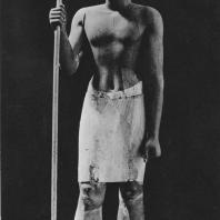 Фараон Сесострис I (Сенусерт I). Статуя найдена в Листе. XII династия. Египетский музей в Каире. Фото: Анджей Дзевановский