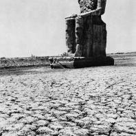 Фивы. Египет. Южный колосс Мемнона. Фотограф: Анджей Дзевановский